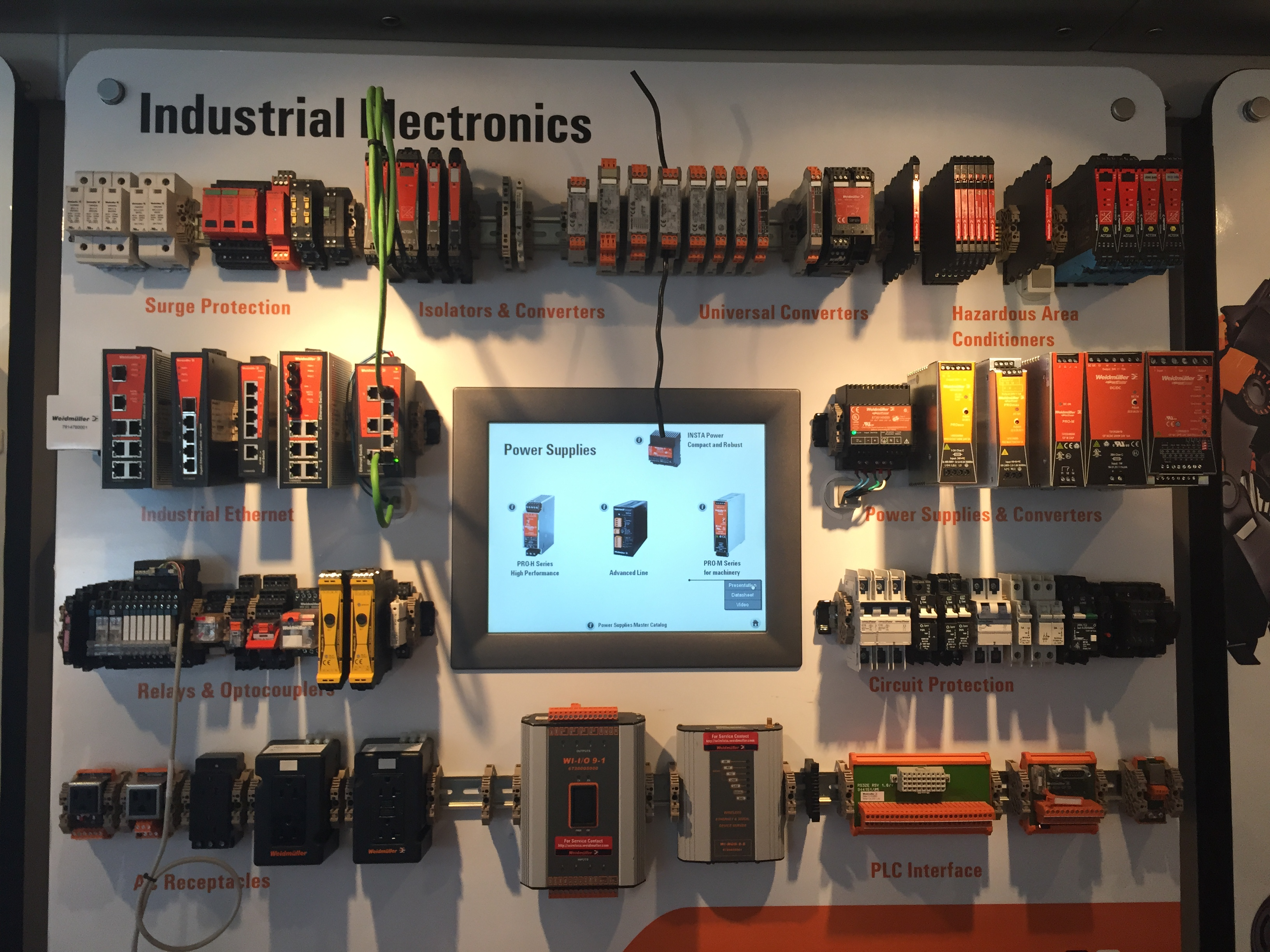 AIES Rides with Weidmüller – All Industrial Electric Supply